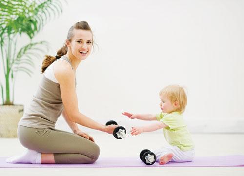 giảm béo toàn thân sau sinh