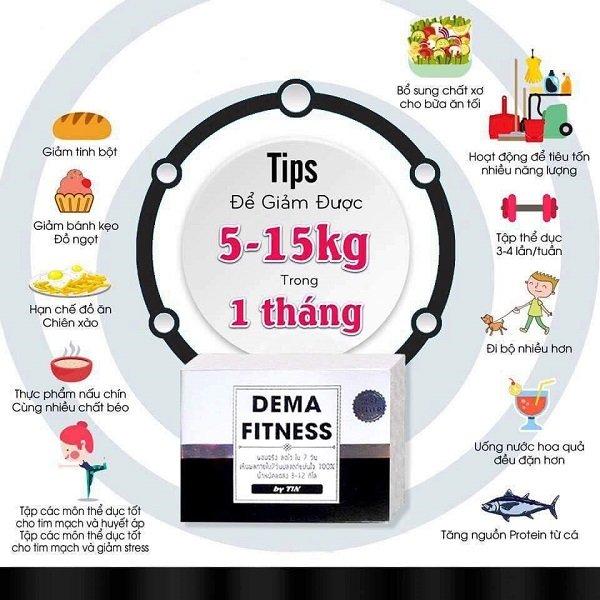 thuốc giảm cânDema Fitness có tốt không