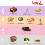 Bật mí thực đơn ăn gì để giảm cân nhanh trong 3 ngày siêu hiệu quả