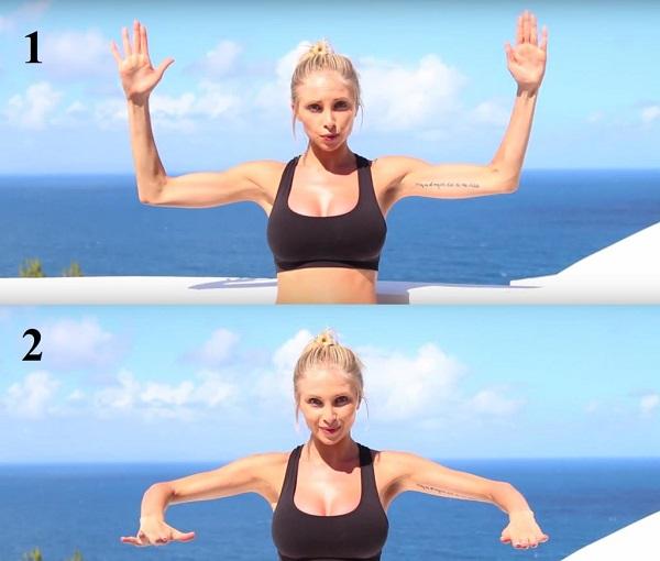 giảm béo cánh tay nhanh nhất