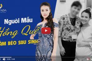 Video: Gặp gỡ siêu mẫu Hồng Quế qua livestream quá trình giảm béo tại TMV Nevada