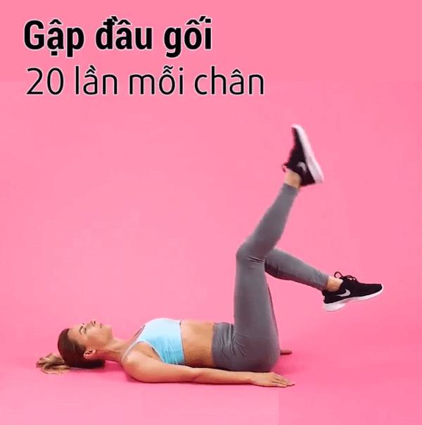 bài tập eo, cách làm sao để giúp cho giảm mỡ đùi, làm bắp chân thon gọn, chân nhỏ lại cấp tốc nhanh nhất trong 1 tuần