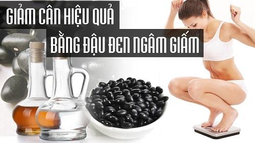 giảm cân bằng đậu đen