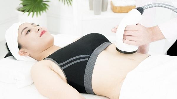 công nghệ giảm béo mỡ bụng bằng công nghệ rf mới nhất hiện đại mới nhấy nhất không phẫu ngày này thuật laser lipo, sau sinh