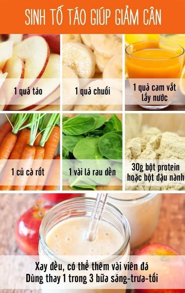 thực đơn giảm cân overnight diet