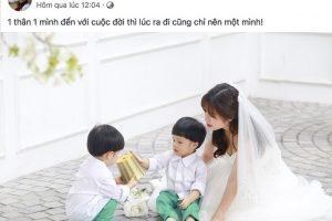 MC Hoàng Linh chia tay chồng thứ 2, treo status dập đầu xin lỗi mẹ vì yêu phải người không ra gì