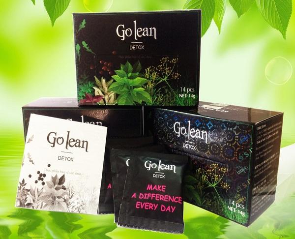 trà giảm cân golean detox có an toàn, tốt, hại không khi có chứa chất cấm review webtretho, giá sỉ bao nhiêu, trong cách uống của trà giảm cân golean