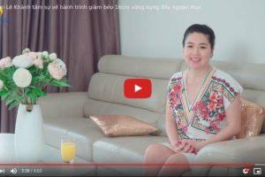 Diễn viên Lê Khánh chia sẻ bí quyết: Làm sao để giảm cân sau sinh mổ