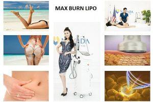 Công nghệ giảm béo Max Burn Lipo Thách thức khổng lồ cho mỡ bụng