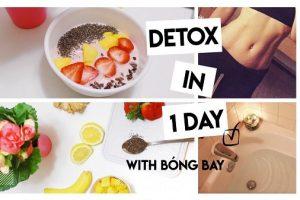 8 loại Detox giảm cân, thanh lọc thải độc cơ thể cực hiệu quả sau tết