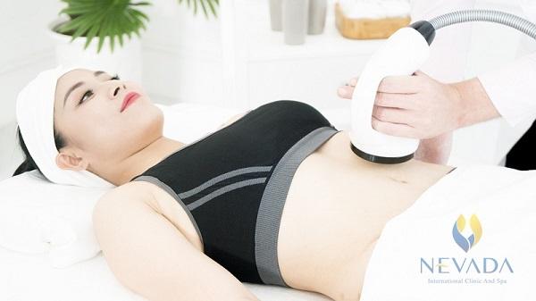 các công nghệ giảm béo mỡ bụng bằng công nghệ cao hifu, rf mới nhất hiện đại mới nhất không phẫu ngày này thuật laser lipo, sau sinh