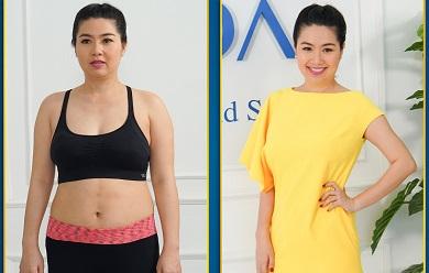 Kết quả của Diễn viên Lê Khánh giảm béo bụng sau sinh ở Nevada