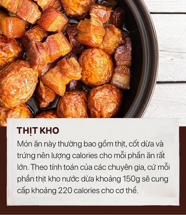 Những món ăn tăng cân ngày tết