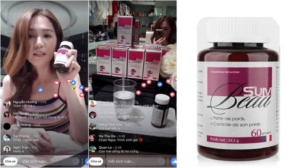 giá mua sản phẩm thuốc viên uống giảm cân sumbeau có tốt không, giá bao nhiêu, review webtretho