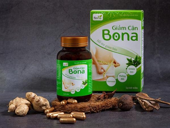 Thuốc giảm cân Bona có giá bao nhiêu tiền một hộp? Có tốt không?