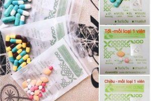 Những triệu chứng khi uống thuốc giảm cân Yanhee, review chi tiết webtretho