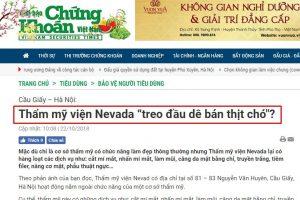 Sự thật phũ phàng đằng sau những bài báo tố cáo Thẩm mỹ viện Nevada lừa đảo