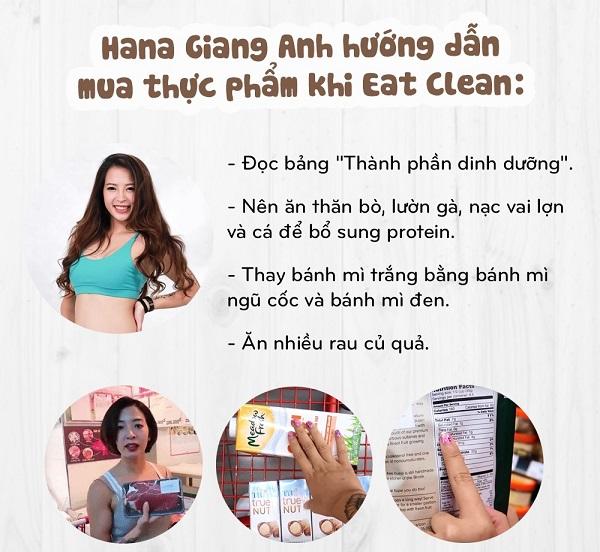 Eat Clean nên ăn gì