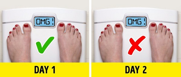 sai lầm khi giảm cân