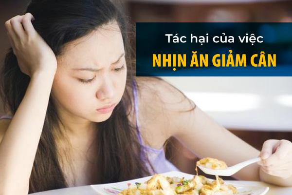 tác hại của nhịn ăn thường xuyên, nhịn đói quá lâu, không nên nhịn ăn để giảm cân, nhịn ăn khoa học giảm cân, tác hại của việc ăn không đủ bữa, tác hại của việc nhịn ăn giảm cân, tác hại nhịn ăn giảm cân