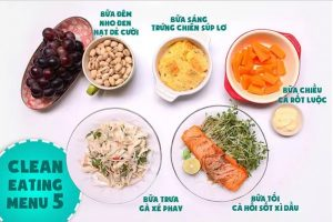 Thực đơn Eat Clean giảm mỡ siết chặt eo chỉ sau 7 ngày