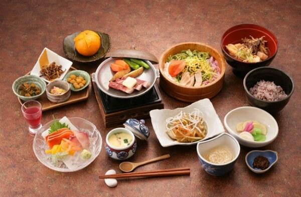 cơ cấu bữa ăn của người Nhật thường ăn gì, tháp dinh dưỡng của người nhật, thói quen ăn uống của người nhật bản, bữa ăn truyền thống đầu năm của người nhật, người nhật ăn mặn hay nhạt, cách chế biến món ăn của người nhật, lịch sử ẩm thực nhật bản, thuyết trình về ẩm thực nhật bản, bữa trưa của người nhật bản