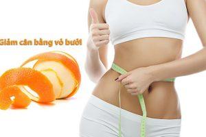 Tiết lộ cách giảm mỡ bụng bằng vỏ bưởi đơn giản mà hiệu quả