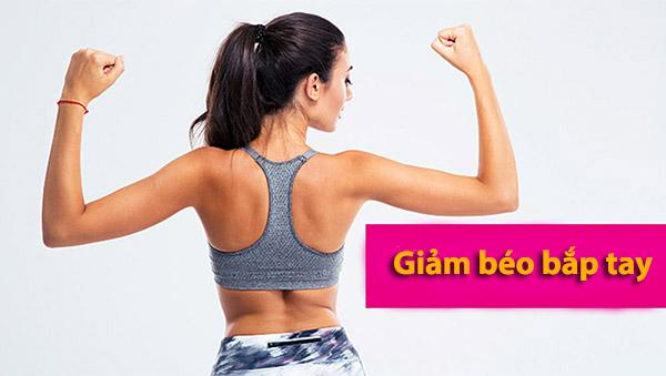 giảm béo bắp tay tại nhà