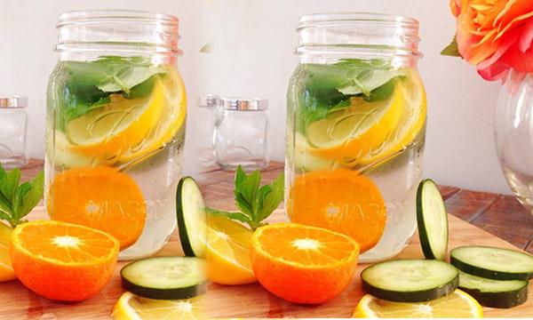 Detox nước lọc giảm cân hiệu quả