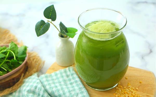 giảm cân với cách làm và bằng uống nước ép rau má có giảm cân không