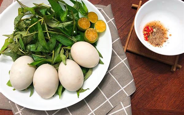 ăn nhiều trứng vịt lộn buổi sáng tối đêm có béo không