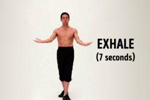 Cách hít thở giảm cân của người Nhật – giảm 12kg và 13 cm vòng bụng sau 50 ngày