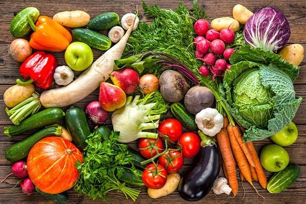 Bổ sung nhiều chất sơ từ rau củ giúp giảm béo bắp tay hiệu quả
