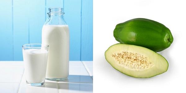 sữa chua đu đủ xanh - Ăn sữa chua có giảm cân không