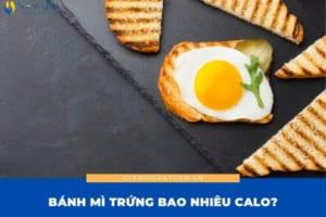 Bánh mì trứng bao nhiêu calo? Con số sẽ khiến bạn không ngờ tới