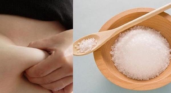 cách làm rang đắp muối hột giảm mỡ bụng sau sinh bằng cách chườm với muối hột, hạt rang