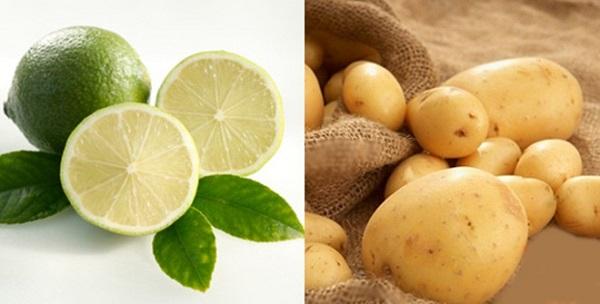 Cách triệt lông bằng khoai tây tại nhà