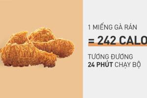 1 Miếng gà rán bao nhiêu Calo? Ăn gà rán có mập không? Những tiết lộ khiến ai cũng phải ngỡ ngàng