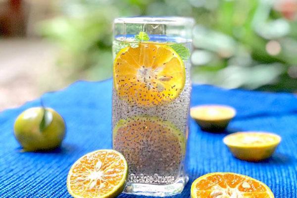 cách giảm cân bằng pha, từ uống nước với hạt é có giúp giảm cân như thế nào không