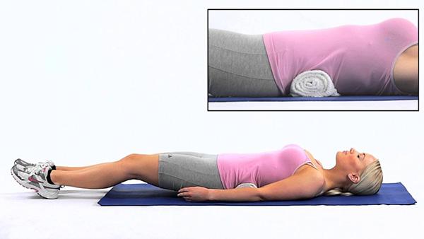 tư thế ngủ giảm cân - nằm ngửa