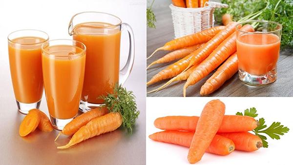 Uống nước ép cà rốt có giảm cân không