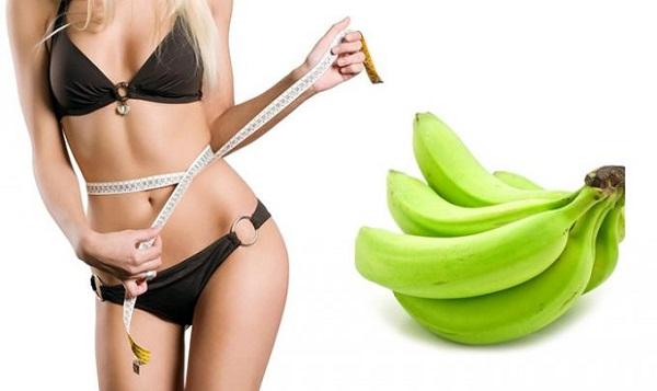 Ăn chuối giảm mỡ bụng