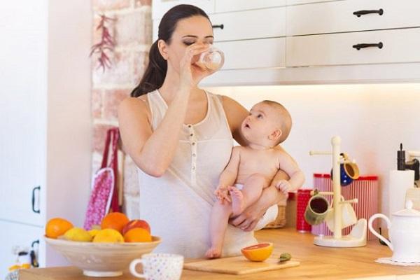 Ăn gì giảm mỡ bụng sau sinh