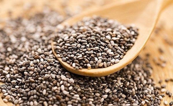 Hạt chia - Nhóm các loại hạt giảm cân giàu chất xơ