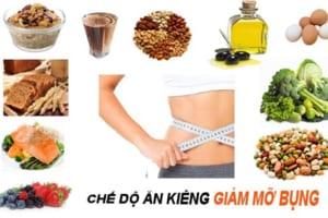 Chế độ ăn kiêng giảm mỡ bụng cho nữ cấp tốc giúp nàng có vòng eo quyến rũ