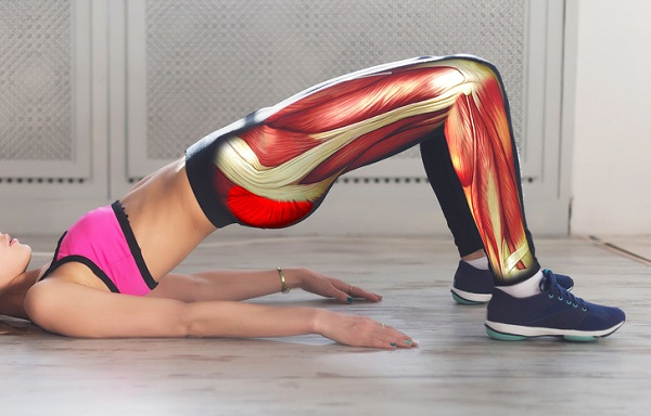 Gập bụng có giảm mỡ bụng không với cách nâng mông tác động lực giúp eo phẳng, bụng thon