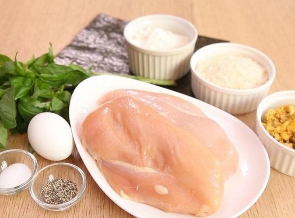 Giảm cân bằng cách ăn ức gà