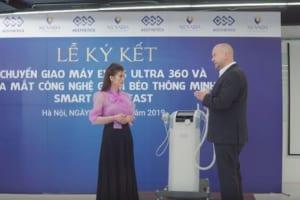 Lễ ký kết công nghệ giảm béo đỉnh cao tầng sâu: Smart Burn Fast