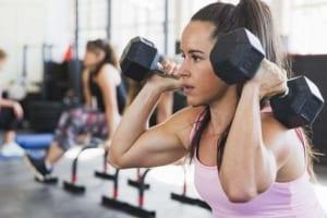Tập tạ có giảm mỡ bụng không? Tập tạ như thế nào để giảm mỡ bụng?