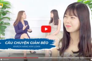Chiêm ngưỡng vóc dáng thon gọn của khách hàng Kim Loan sau khi giảm béo thành công